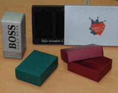 Упаковка для парфюмерии картонная