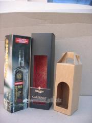 Packaging cardboard for groceries