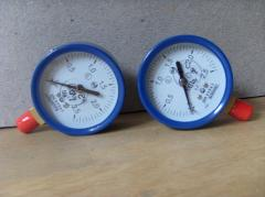 Manometers for measurement of excessive pressure