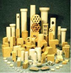Изделия огнеупорные для футеровки вагранок