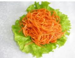 Овощи солено-квашеные. Морковь по-корейски.