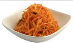 Продукты питания. Морковь по-корейски.
