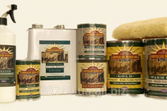Oil for a parquet, for external and internal works