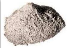Mertel, the refractory clay ground shamotny