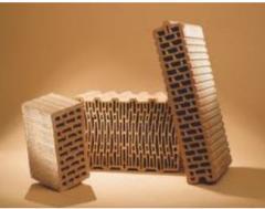 Кирпич керамический полнотелый марки М-100 от