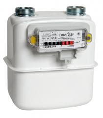Счетчик газа мембранный бытовой Самгаз G1,6-G6.