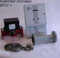Vortex flowmeter counter of VRSG-1 gas.