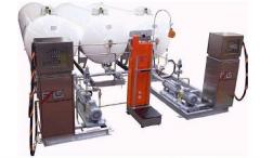 Газовая заправочная станция для заправки автомобилей сжиженными углеводородными газами (СУГ) м наземноразмещенными емкостями объемом 2700, 4850, 6700 и 9000 литров