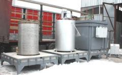 The electric furnace kolpakovy SGZ with the