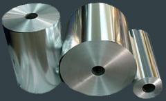 Tape from aluminum