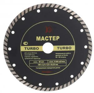 Алмазный диск для шлифовки бетона Turbo