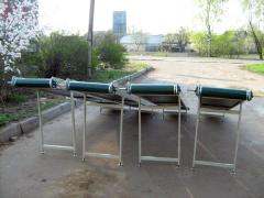 Tape inclined conveyors