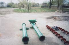 Conveyors, conveyors screw for freights