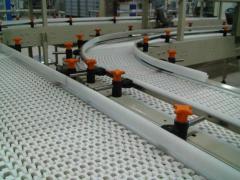 Конвейеры с модульными лентами