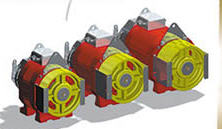 Electric motors for elevators