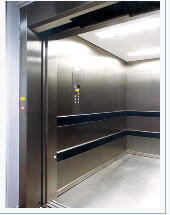 Elevators are passenger-and-freigh