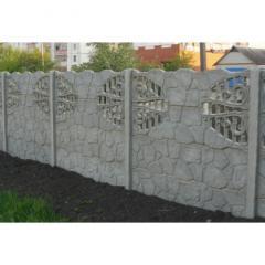 Заборы бетонные, аборы бетонные ЖБ, ограждения,