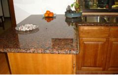 Granite and products from it under the order