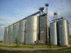 Зернохранилища Riela