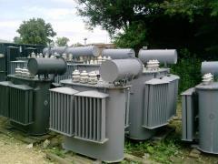 Трансформатор ТМ 1000/6/0,4, ТМ 1000/10/0,4.