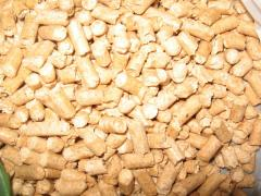 Granules are fuel, pellets from firm species