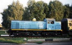 Тепловоз ТГМ - 4, дизель 211Д3 (6ЧН21/21)