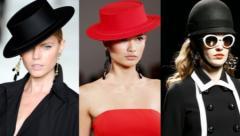 Шляпы фетровые пуховые женские