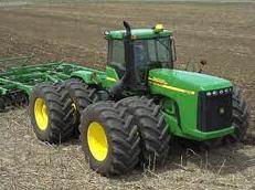 Los neumáticos para los tractores en Zaporozhe, el