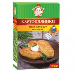 Potato fritters, 300 g