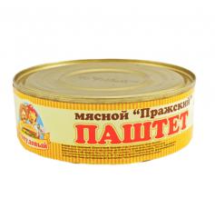 """Pate """"Prague meat"""" Sto Pudov 240 g, tin"""
