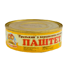 """Pate """"Prague with butter Sto Pudov 240 g, tin"""