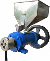 KR-150 extruder with the engine of 11 kW / 1500