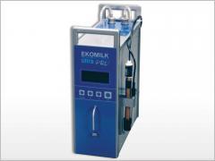 Analyzers of quality of Ekomilk Ultra milk