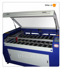 The laser engraver with ChPU for CO2 of an