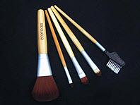 Кисточки 5 штук ECOTOOLS с бамбуковыми ручками