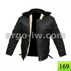 Куртка пилот меховая