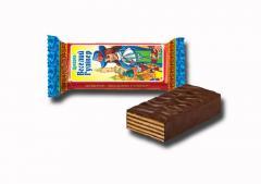 الحلوى والشوكولاته الويفر المغلفة.