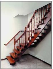 Лестницы. Лестницы деревянные.