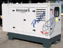 Электростанции и распределительные устройства   Дизельные трехфазные электростанции, дизельные генераторы TESSARI из Италии