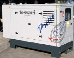 Дизельные генераторы TESSARI PIW