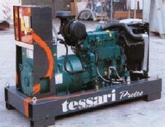 Дизельные генераторы TESSARI PVW