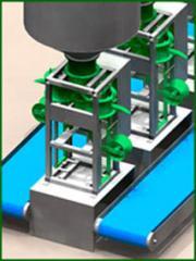 Дозатор для фасовки в клапанные мешки