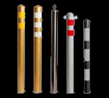 Столбики стационарные для ограждения зон,