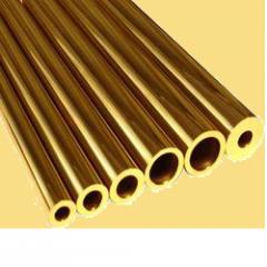 Brass pipe semisolid, soft Kharkiv (Ukraine)