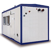 Installations boiler rooms transportable