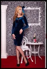 Бархатное платье Лира Артикул:0750