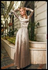 Атласное платье Земфира Артикул:0791