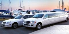 Прокат лимузинов Мерседес с водителями на свадьбу,