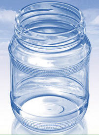 Steklobank twist off. Glass jar (JAR) III-66-340.