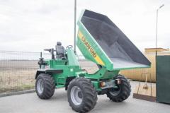 Pass the Barford SKR9000 dump truck